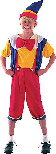 Sportsgear US Children's Boys Book Week Day Fancy Dress Outfit Pinocchio Budget Costume XL