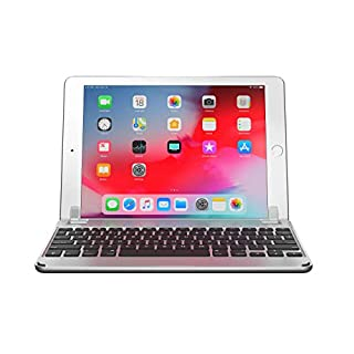Brydge 9.7 Bluetooth Keyboard for New 5th Gen Apple iPad, Pro 9.7, Air 1 & 2 – Silver (B01N2W1XEL) | Amazon price tracker / tracking, Amazon price history charts, Amazon price watches, Amazon price drop alerts