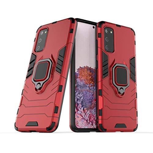 Jaligel - Carcasa para Samsung Galaxy S20, funda con soporte para anillo...