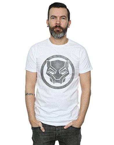 Marvel Hombre Black Panther Distressed...