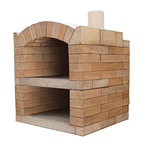 PUR Schamotte Pizzaofen Bausatz - Rom Basic