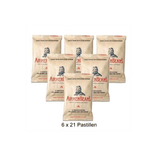 6 Nachfüllpackung Airmen Beans a 21 Pastillen
