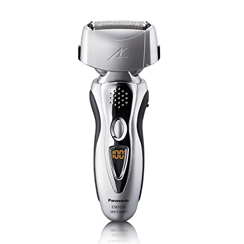 Panasonic ES8103S Arc3 Pivoting Wet & Dry Electric Shaver and Trimmer with 3x Nanotach Blades $59.99