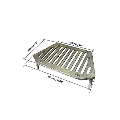 "Your DIY Shop WW Fire Grate 16"" Fireplace Openings - 4 Legs"