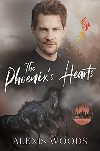 The Phoenix's Hearts: A Paranormal Daddy/little/brat MMM Romance (Forest Edge Book 5) (English Edition)
