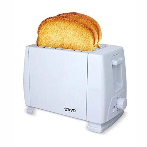 2 Slice Toaster, 3Cm Extra Brede Sleuf En Verwisselbare Vloer, Broodrooster Met 6 Temperatuur Instellingen, Warmte En Functie Broodrooster Thuis Sandwich Ontbijt Machine Annuleren