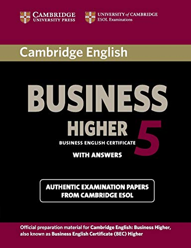 Cambridge English Business 5 Higher (Bec Practice Tests)