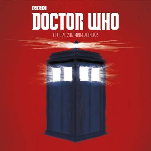 Doctor Who - Official 2017 Mini Calendar