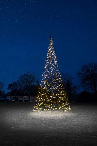 Hemsson Fairybell - Albero di Natale con 1500 LED, 8 m, colore: Bianco caldo