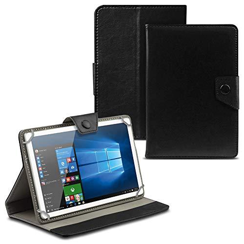 UC-Express Tablet Tasche für Wortmann Terra PAD 1004 Hülle Case Cover Schutzhülle Etui Tablethülle, Farbe:Schwarz