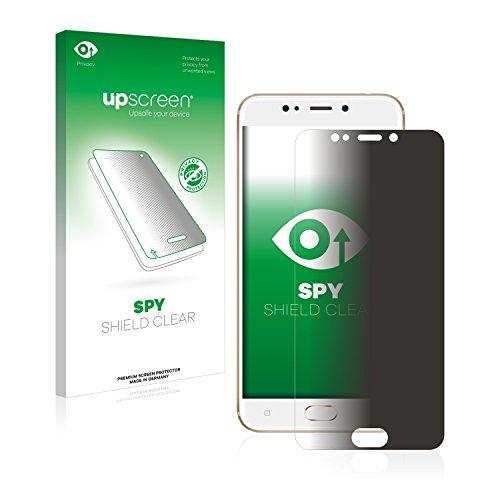 upscreen Anti-Spy Blickschutzfolie kompatibel mit Gionee S9 Privacy Screen Sichtschutz Bildschirmschutz-Folie