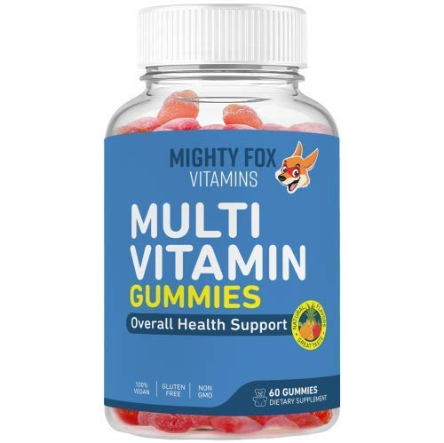 Multivitamin Gummies For Kids Immune Support - Teen Multivitamin - Vegan, Non-GMO and Gluten Free Gummy Vitamins with All Natural Fruit Flavors - Vitamin C, B3, B5, B6 & B12, Zinc (30 Day Supply)
