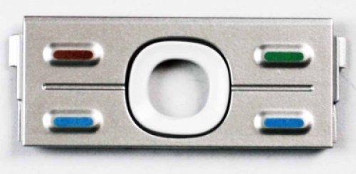 Keypad per Nokia 5700 Superiore Silver (Original)