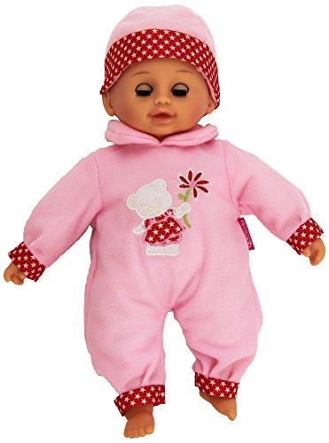 Dimian–Puppe mit Sound-Kuss, 33cm, Pink und Weiß (Claudio Reig 220PRKS)