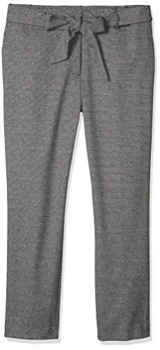 Karl Lagerfeld Paris Damen Tweed Pant with Tie Unterhose, Schwarz Weiß Multi, 38