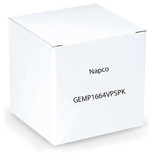 Napco GEMP1664VPSPK Includes GEM-P1664, 64 zone, 4 partition control panel in large H401 enclosure with lock & key, GEM-K1VPS keypad with smart blue b