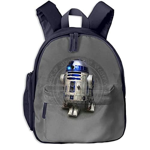R2D2 Kids Backpacks School Bags for Boys Girls Pre School Bag Cute Cartoon Backpack Sized for Kindergarten, Preschool