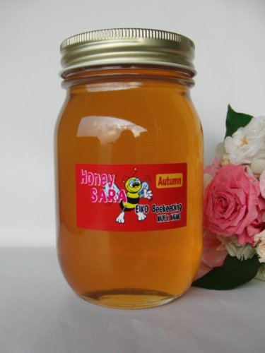 秋の百花蜂蜜 600g 純粋 国産 生 はちみつ 非加熱 非加糖 長野県産 信州産
