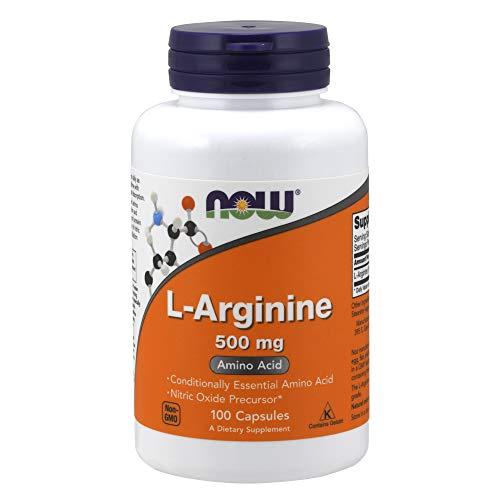 L-Arginine 500mg (100 caps) - Now Sports
