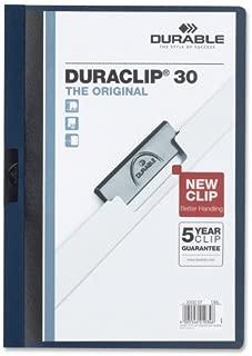 Wholesale CASE of 25 - Durable Duraclip Report Covers-DuraClip Report Cover, 30 Sheet Capacity, 11