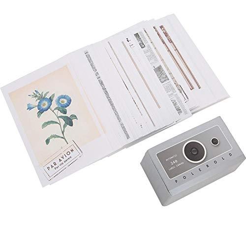 fuwinkr 200PCS Notizpapier, Notizpapierdekoration, Umweltschutz-Notizpapier, einfacher Stil Hohe Qualität für das Wohl der Studienmitarbeiter(Time Vending Machine)