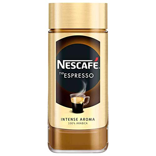 Löslicher Kaffee | Nescafé | Espresso | Gesamtgewicht 100 Gramm