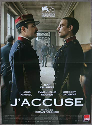 Affiche Originale du Film Original-Kinoplakat (Format 53 x 40 cm, gefaltet) Roman Polanski Jean Dujardin Louis Garrel 2019