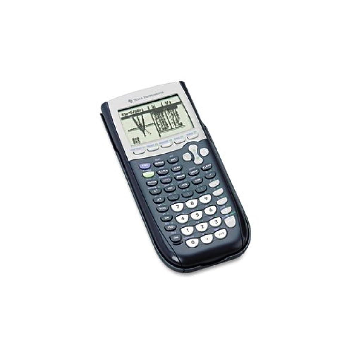 マークされた威する性格Texas Instruments ti84plus ti-84plusプログラム可能なグラフ化、電卓10桁LCD