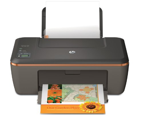 HP Deskjet 2510 All-in-One Tintenstrahl Multifunktionsdrucker grau-schwarz (Drucker, Scanner, Kopierer, USB,  4800x1200)