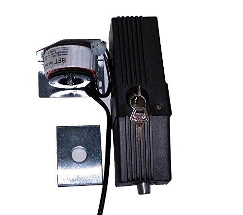 Cerradura eléctrica vertical BFT EBP 24 V P123001 00013 con pulsador de automatización de puertas