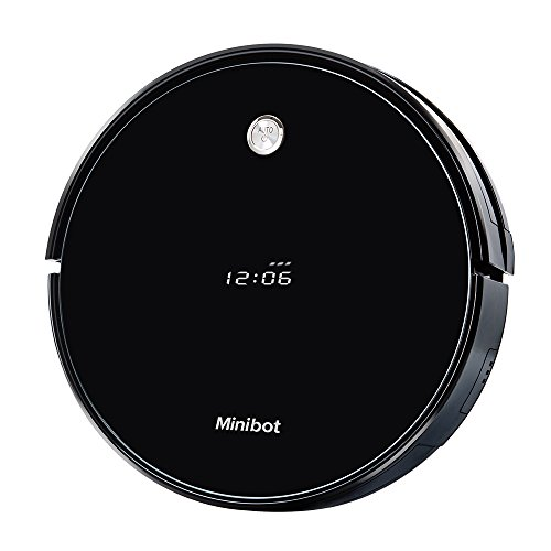 Minibot Robot Vacuum Cleaner Strong Suction Self Charging Remote Control Perfect for Pet Hairs Thin...