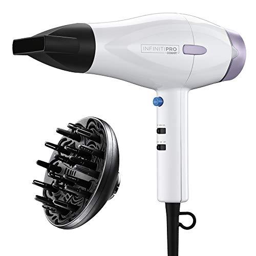INFINITIPRO BY CONAIR 1875 Watt Advanced Ceramic Hair Dryer with Heat-Sense Technology