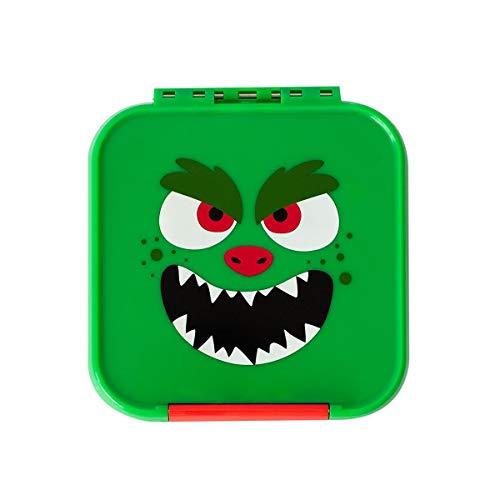 Little Lunch Box Co. Mini Snackbox für Kinder mit Unterteilungen | Bento Box | Brotdose (Monster)
