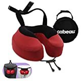 Cabeau Evolution S3 Doctor-Recommended Therapeutic Pillow for Neutral Spine Alignment, Straps to Any Seat, Prevents Neck Pain and Head Drop, 360° Memory Foam Support for Travel, Home, Office, Gaming