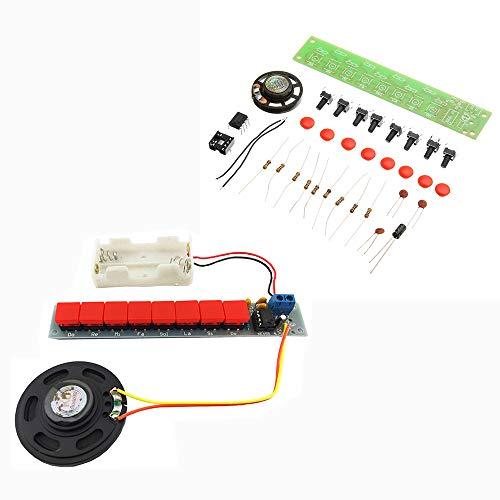 ILS - DIY NE555 Elektronische Onderdelen Kit Elektrische Piano Organ Module Kit