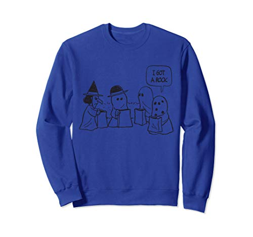 Peanuts Halloween Charlie Brown I got a Rock Sweatshirt