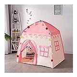 M-Home Princess Castle Spiel-Zelt for Mädchen Große Kinderspielzelte for Kinder Zelt Play House Indoor- Und Outdoor-Spiele (Color : Pink)