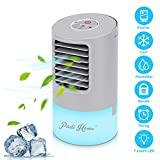 Portable Air Conditioner Fan,Personal Desktop Fan Mini Air Cooler Table Evaporative Ac Cooling Fan...