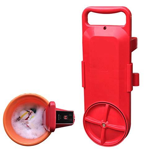 JIAODIE Mini Machine à Laver Portable, avec minuterie de contrôle de Lavage Petite Automatique Compact sous Washer pour Dortoir Camping Outdoor Hôtel de Voyage