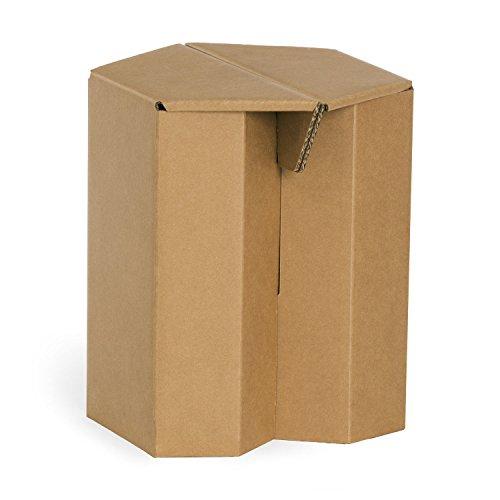 Hocker aus Pappe Maks Original Papphocker 4 Stück recycelbar 15,00€ pro Stück im 4er Pack