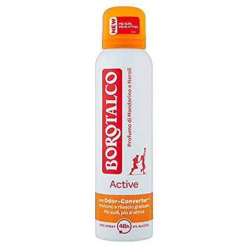 Borotalco Desodorante en spray de mandarina y neroli, 150 g