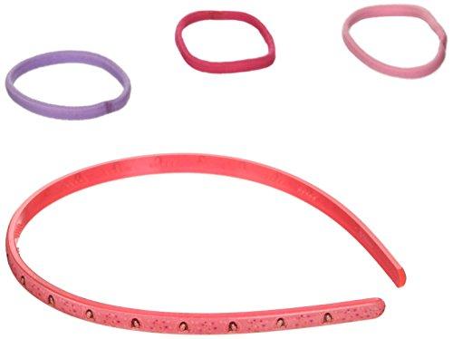 Violetta haarband met 3 elastieken