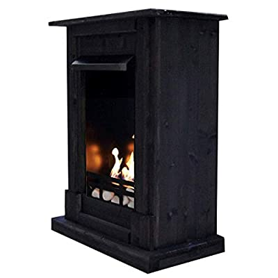 Ethanol and Gel Fireplace Model Madrid Premium Includes 21 Accessories. Choice of 9 Colours, 10195-FR