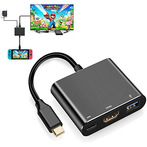 DWIN USB C To HDMI Adapter, Compatible With USB3.0 2.0 Multi-port Type C Adapter For Nintendo Switch, Samsung S8 / S8 +, MacBook/MacBook Pro