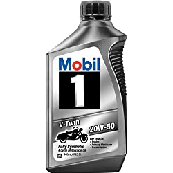 Mobil 1 20W-50 Full Synthetic Motorcycle Oil Review