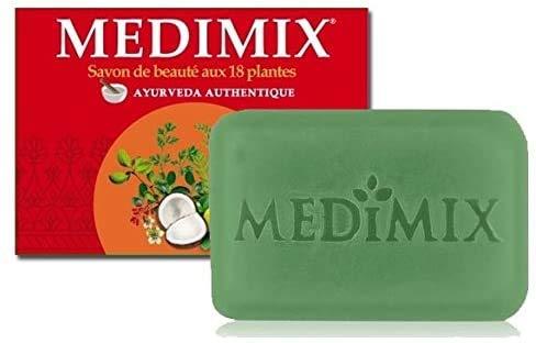 MEDIMIX SAVON AYURVEDIQUE - Medimix Savon Ayurvédique Glycérine aux 18 Herbes - Lot de 3 x125 GRS