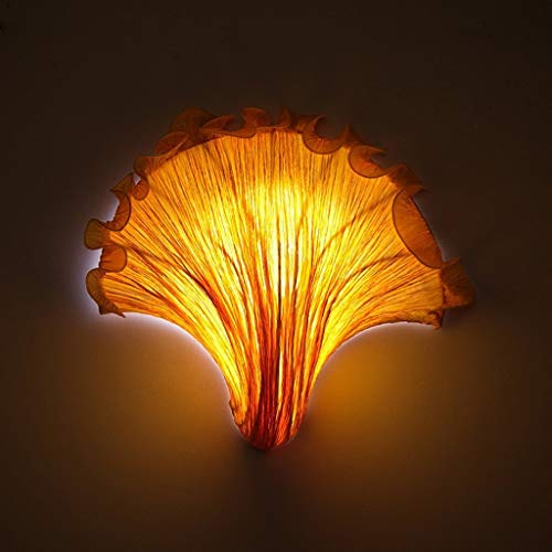 BXU-BG Tela llevó la lámpara de pared creativo romántico pared de la manera mediterránea, la sala de estar de la lámpara del restaurante dormitorio de la lámpara lámpara de cabecera del pasill
