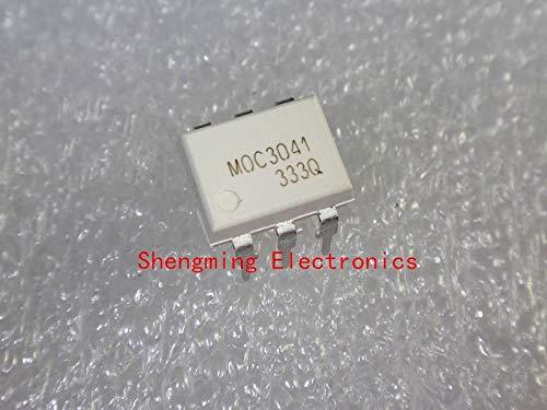 50 piezas MOC3041 MOC3041M DIP-6 Optoacoplador
