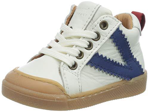 Bisgaard Unisex Kinder Sylvester Sneaker, Weiß (White 1104), 24 EU