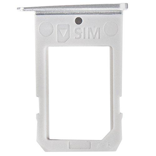 AGI Kompatibel SIM Tray White für Samsung G925F Galaxy S6 Edge kompatiblen